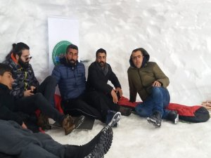 Kar festivalinde CİSAD sesleri…