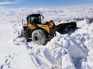 Başkakale'de kar kalınlığı 2 metreyi aştı!