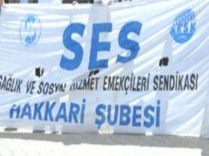 Ses Hakkari Şubesinden 14 mart tıp bayramı açıklaması