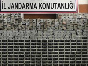 4 bin 180 paket kaçak sigara ele geçirildi