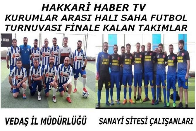 Turnuvanın finalistleri...
