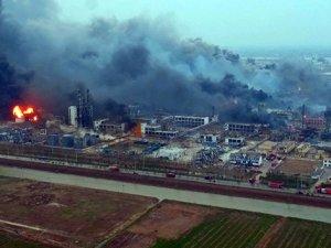 Kimya tesisi patlaması 47 Ölü