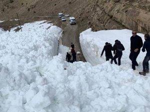 Kar kalınlığı 8 metreyi buldu
