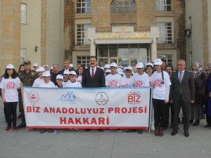 Vali Akbıyık, 40 öğrenciyi Muğla gezisine uğurladı