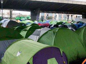 İnsanlık dışı mülteci kampı tahliye edildi