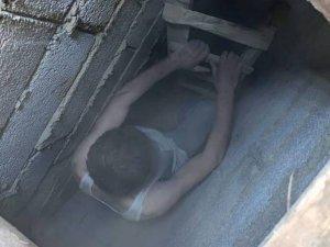 Cezaevi firarisi evindeki gizli bölmede yakalandı