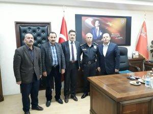 Başkan Er'den emniyet müdürlüğüne ziyaret