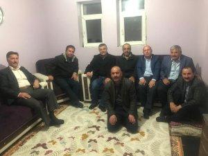 Şehit ailelerinden, Şehit Teğmen Özatak'ın ailesine ziyaret