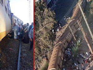 Tren raydan çıktı: en az 25 yaralı