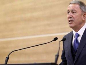 Milli Savunma Bakanı Akar açıkladı