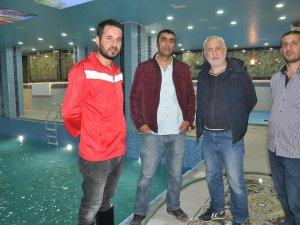 Yüksekova'da yıllar sonra havuz açılıyor