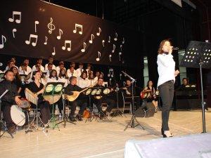 Hakkari Güzel Sanatlar Lisesinde yıl sonu konseri