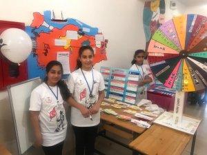 15 Temmuz Şehitleri Ortaokulunda bilim fuarı açıldı
