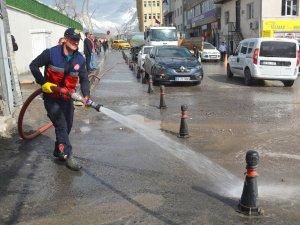 Hakkari'de temizlik kampanyası devam ediyor
