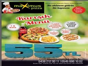 Maximus-Pizza Ramazanda açık olacak!