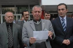 HAKKARİ KESK (SSGSS)Yİ PROTESTO ETTİ