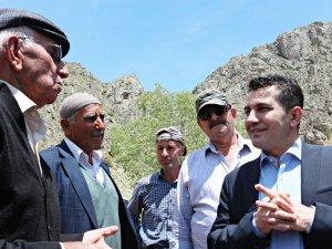 Vali Yardımcısı Duruk'tan köylere ziyaret...