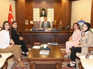 Dernek Başkanların'dan Vali Akbıyık'a ziyaret...