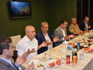 Başkan Demirci'den Protokole İftar Yemeği