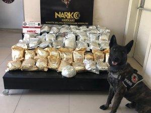Yüksekvo'da yüklü miktarda uyuşturucu ele geçirildi