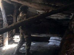 PKK'nın 3 katlı ve 5 odalı mağarası bulundu