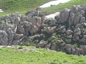 Faraşin'de PKK kampı ele geçirildi