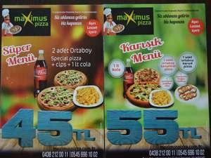 Maximus-Pizza Bayramda açığız