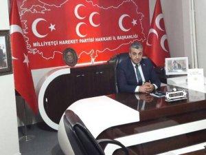 MHP Hakkari İl Başkanı Özbek'ten bayram mesajı