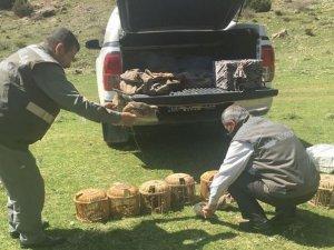 Kaçak keklik avlayanlara 3 bin 600 TL ceza