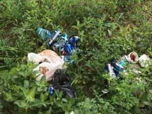 Yüksekova'lı köylülerin çöp tepkisi