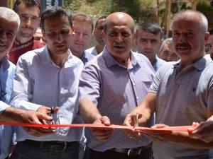 Çukurca'da iki işyeri hizmete açıldı
