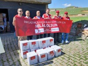 Hakkari: Türk Kızılayı 151. yılını kutluyor