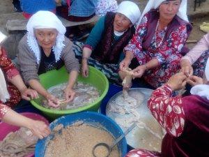 'Mavi Fularlılar' grubu Erciş ilçesi ziyaret etti