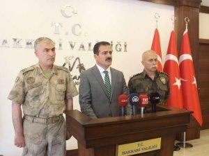 Vali Akbıyık'tan terör açıklaması