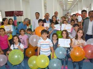 Çocuk Oyun ve Kültür Merkezinde karne günü etkinlikleri