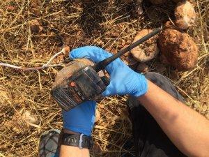 Yola tuzakladığı telsiz düzenekli bomba imha edildi