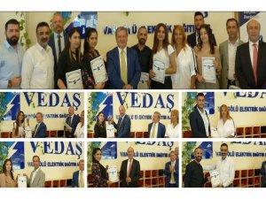 VEDAŞ'ın çağrı merkezi çalışanları ödüllendirildi