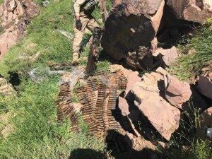 Geçimli Gerik tepede doçka silahı ele geçirildi