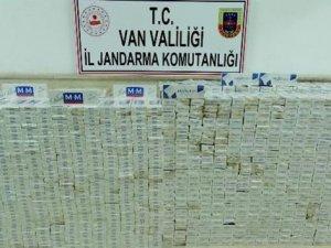 19 bin 719 paket kaçak sigara ele geçirildi