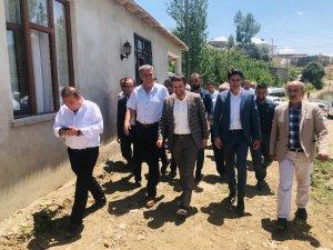 Başkan Gür Geçitli köyünü ziyaret etti