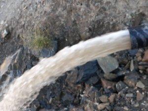 Hakkari belediyesinden bulanık akan içme suyu açıklaması