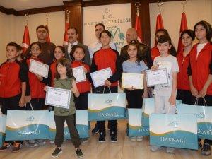 Hakkari Gücü Spor Kulübü'den Vali Akbıyık'a ziyaret