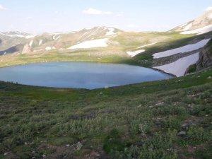 Beytüşşebap'ta dev göl keşfedildi