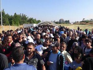 Ülkelerine giden Suriyelilerin sayısı 20 bini aştı