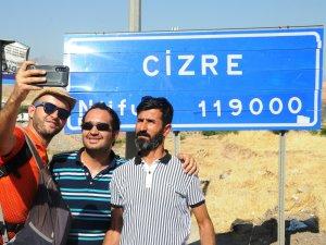 Gezgin Karaca Cizre'de