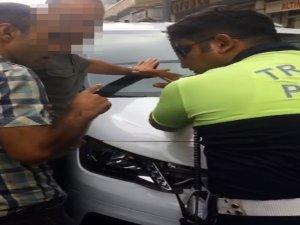 Ceza yazan trafik polisine Hakkari'ye sürdürme tehdidi