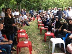 HDP'den Ediş ailesine taziye ziyareti