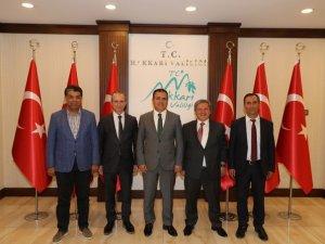 VEDAŞ Genel Müdürü Kavancı'dan Vali Akbıyık'a ziyaret