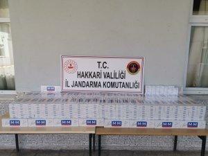 5010 adet kaçak sigara ele geçirildi