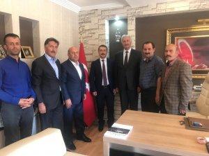 Başkan Er'den Başsavcı Çınar'a ziyaret